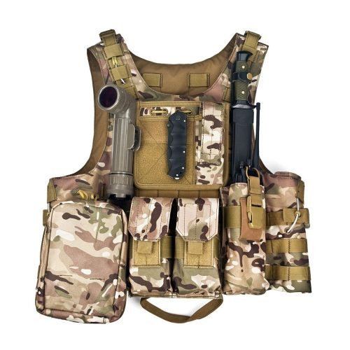 special operations forces bulletproof vest isolated on a white background